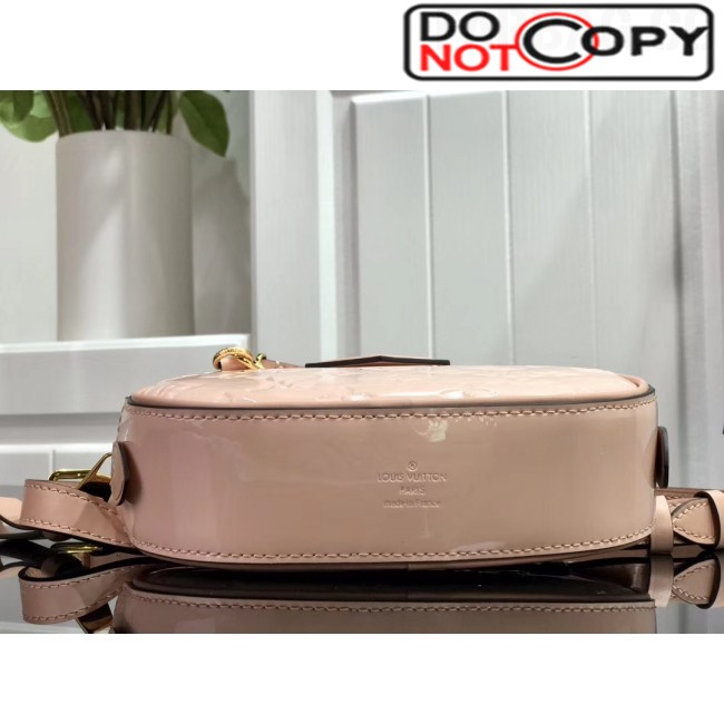 Louis Vuitton Monogram Patent Leather Belt Bag M90531 Pink