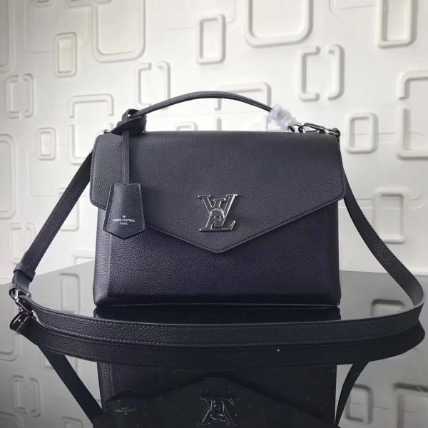 Louis Vuitton Black My Lockme Bag M54849 bag