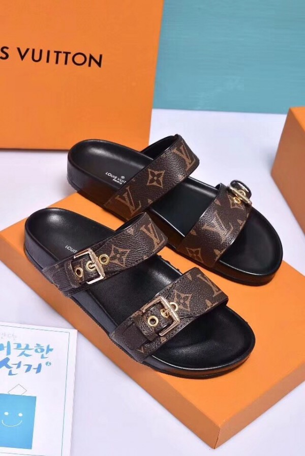 Louis Vuitton Bom Dia Mule Monogram Canvas