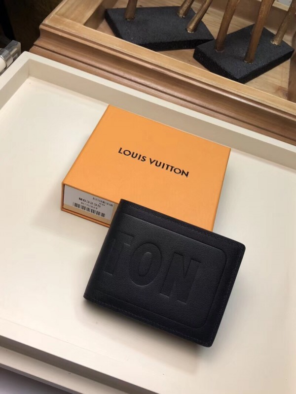 Louis Vuitton Multiple Wallet Dark Infinity Leather M63235 bag