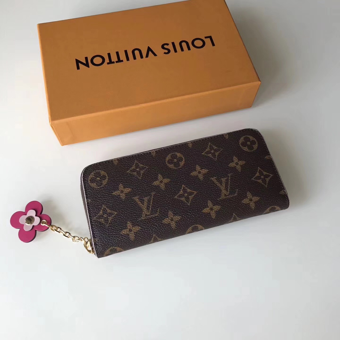 Louis Vuitton Clemence Wallet Monogram Canvas M64201 bag