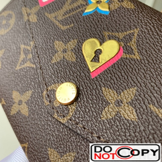 Louis Vuitton Love Lock Sarah Wallet in Monogram Canvas M64117 bag